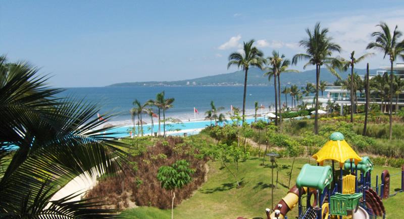 vista al oceano Condominio Península en Nuevo Vallarta