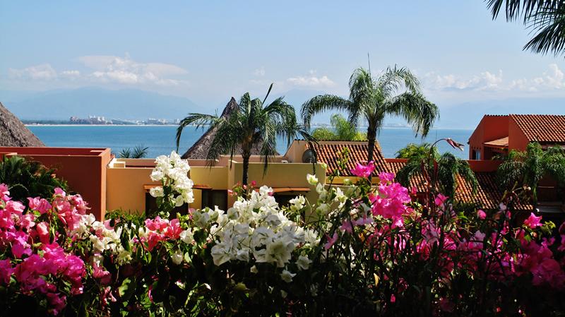 Vista al oceano Condominio Punta Esmeralda La Cruz de Huanacaxtle Riviera Nayarit
