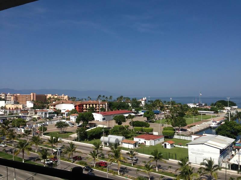 Vista balcón Condominio Deck 12 Puerto Vallarta