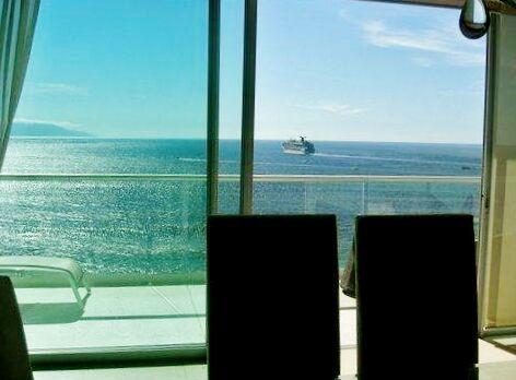 Vista balcón Condominio Península Puerto Vallarta