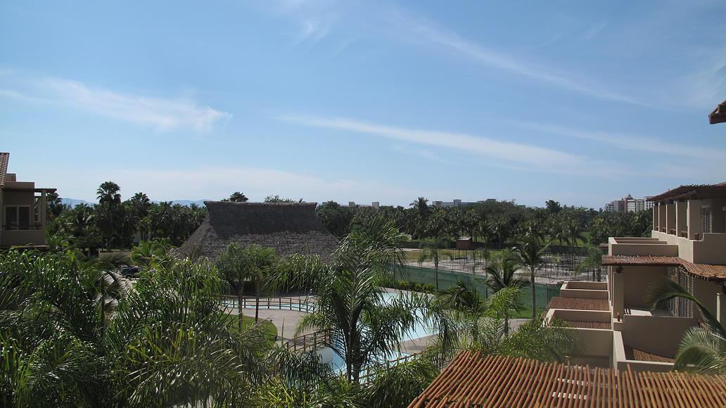 Vista balcón Desarrollo Isla Palmares en el Tigre Club de Golf en Nuevo Vallarta