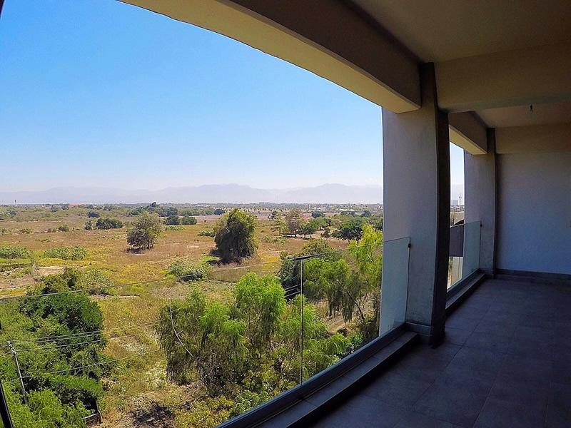 Vista balcón Penthouse en Venta Nuevo Vallarta en Condominio 3.14 Living