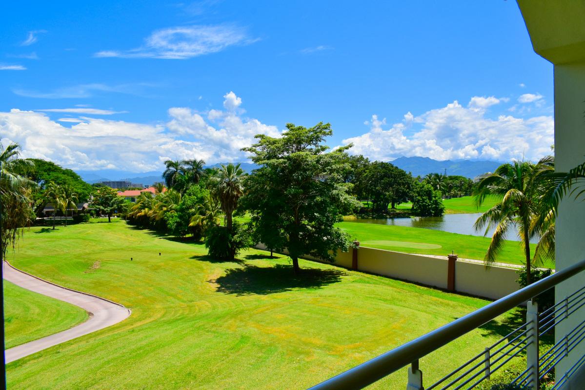 Vista campo de Golf Penthouse Green Bay, El Tigre, Nuevo Vallarta