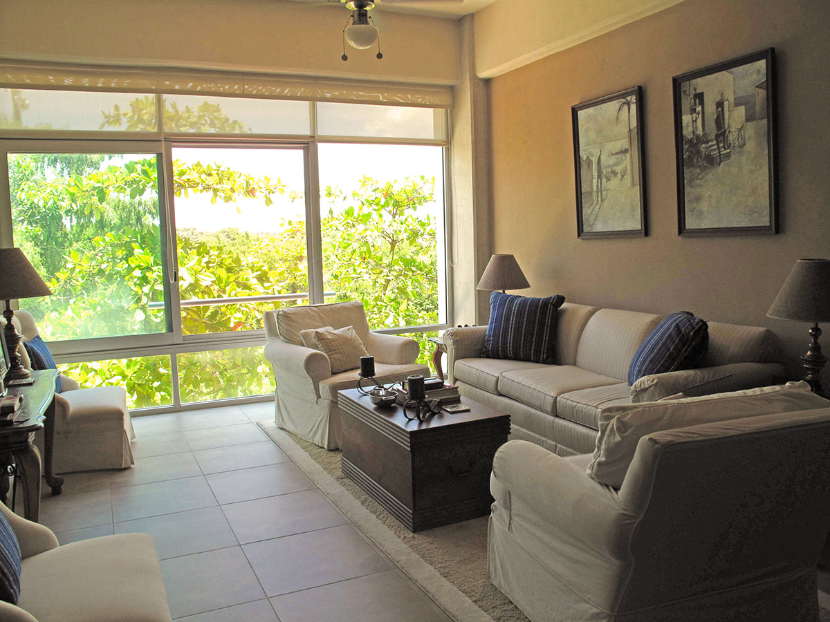 Vista Condominio 3.14-Living en Nuevo Vallarta 2 Recamaras