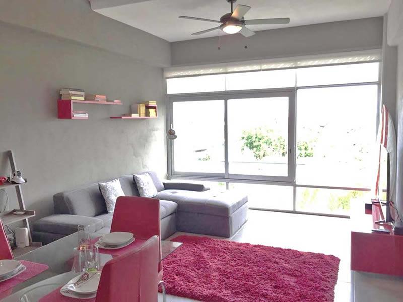 Vista interior Departamento en Venta Nuevo Vallarta Nayarit 3.14 Living