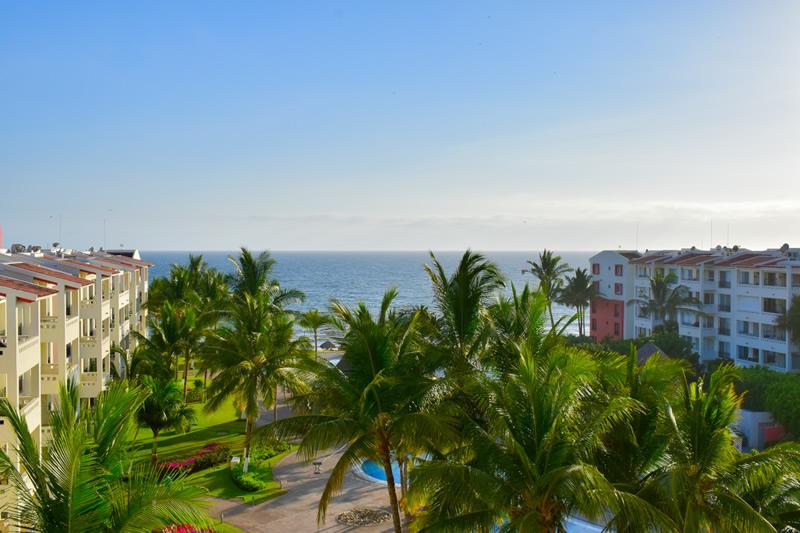 Vista al mar Condominio Flamingos Beach Resort en venta, Nuevo Vallarta