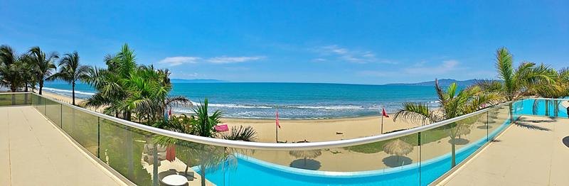 Vista panoramica al mar penthouse en venta Condominio Península en Nuevo Vallarta Nayarit