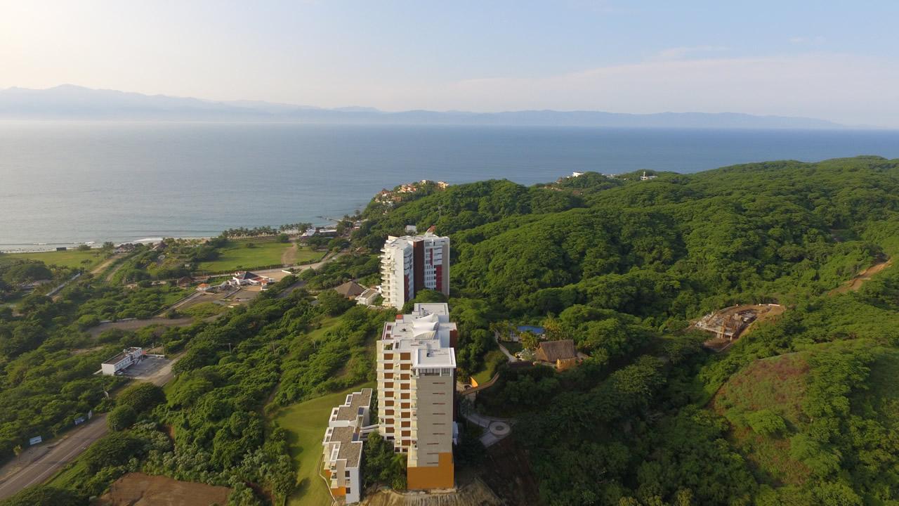 Vista panorámica Alamar Vallarta