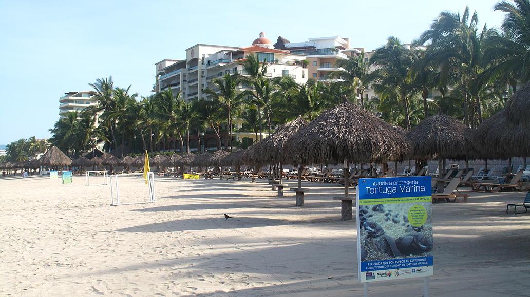 Vista playa Desarrollo Playa Royale en Nuevo Vallarta