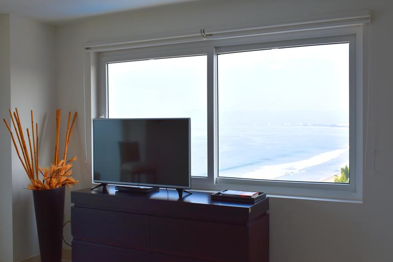 Vista recámara Condominio con vista al Mar en Venta Villa Magna Nuevo Vallarta
