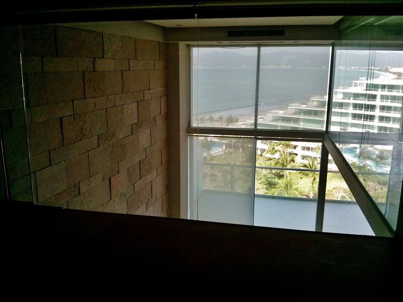 Vista recámara principal Penthouse en Condominio Península Nuevo Vallarta