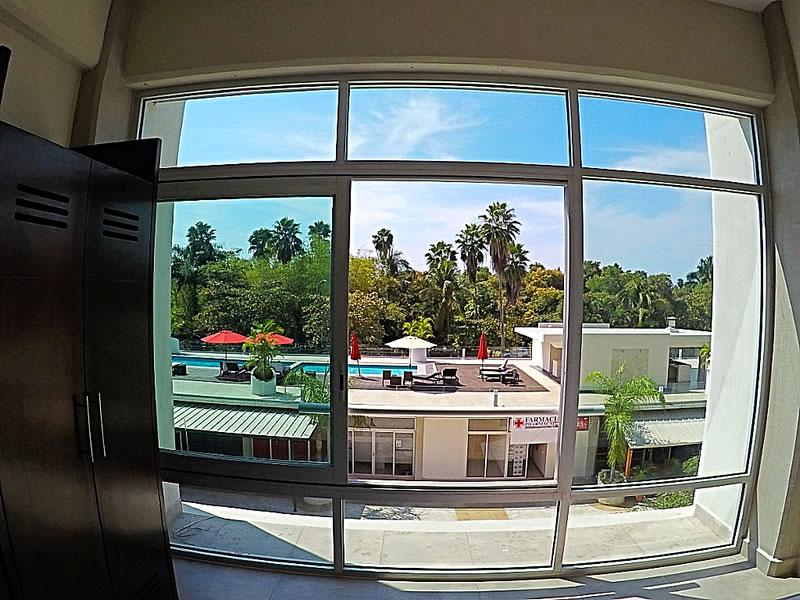 Vista recamara Condominio 3.14 Living Plaza Nuevo Vallarta en venta