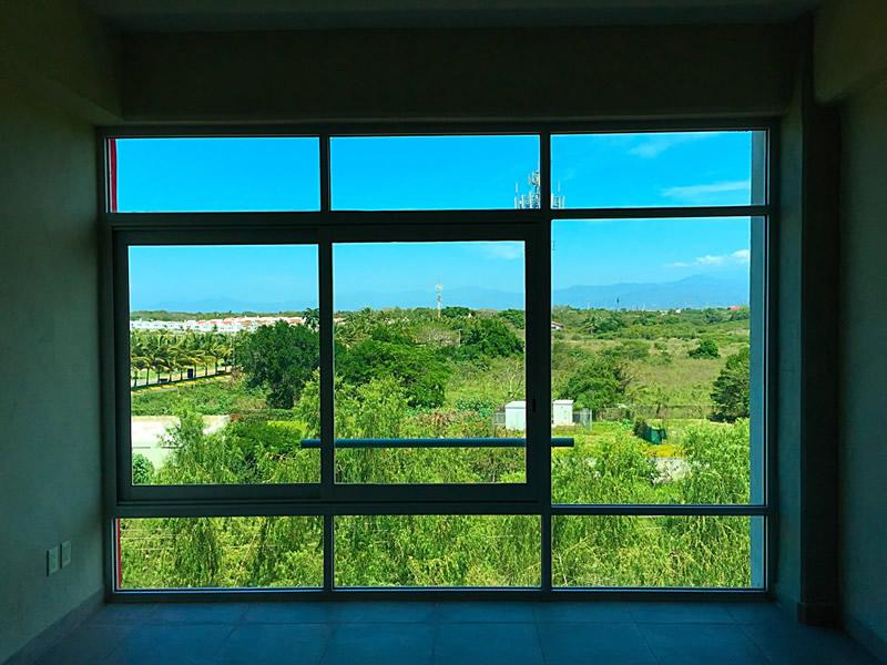 Vista ventana Condominio 3.14 en Nuevo Vallarta dos recámaras