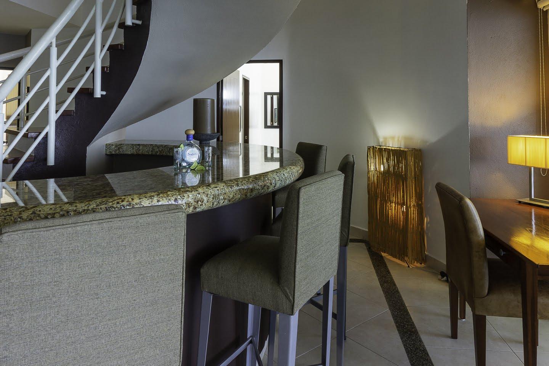 Wet bar Beachfront Penthouse Luxury Condo Nuevo Vallarta