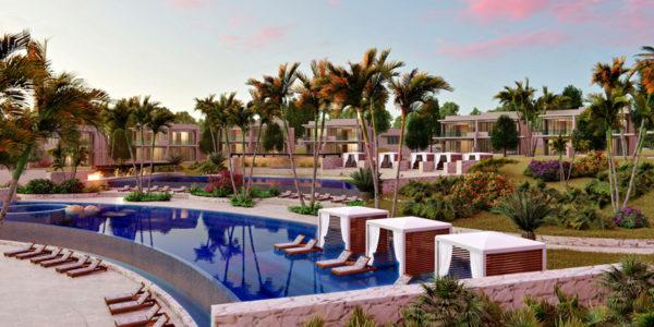 Alberca Desarrollo Susurros del Corazón Punta de Mita Nayarit México