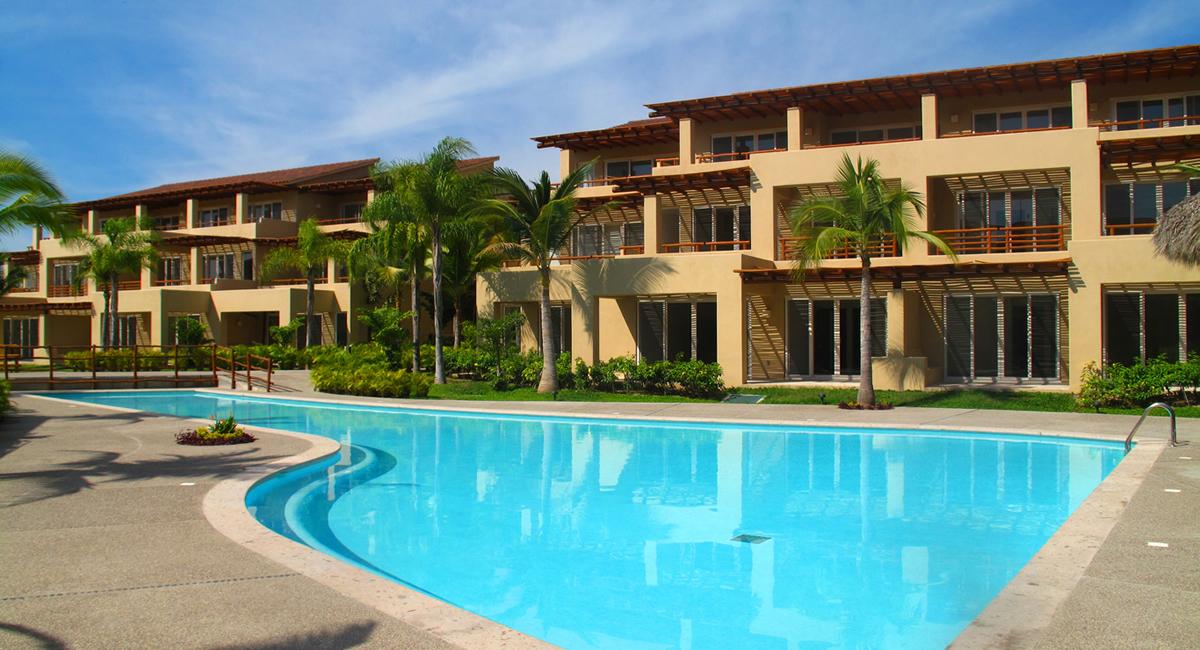 Condominio Isla Palmares en el Campo de Golf el Tigre en Nuevo Vallarta