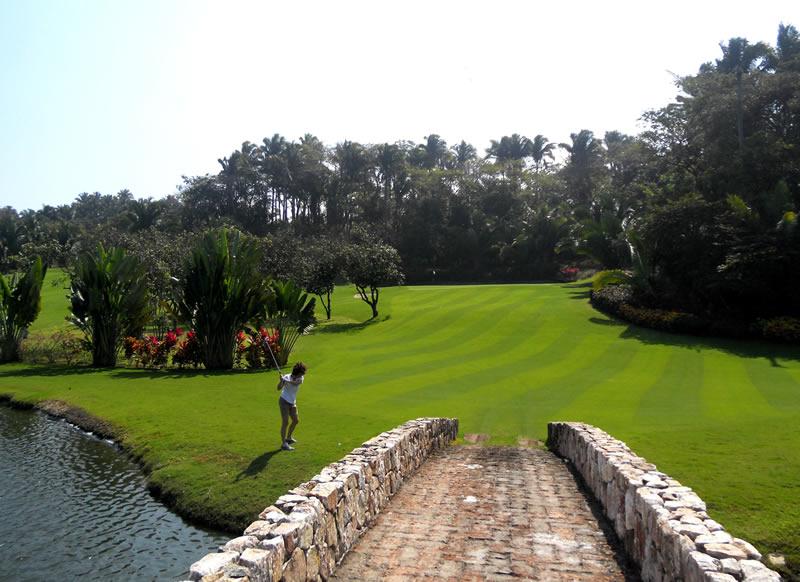 Campo de Golf San Pancho Riviera Nayarit México