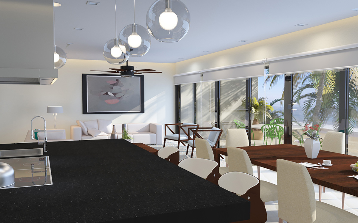 Penthouse en Venta frente a la playa Riviera Nayarit México