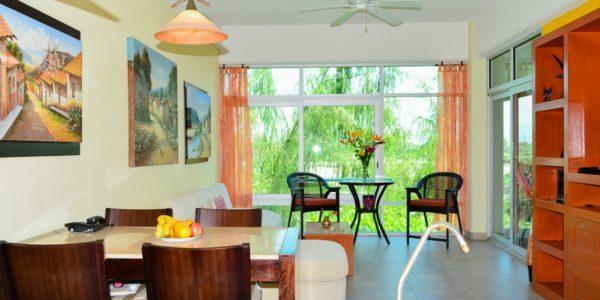 Condominio amueblado en venta Living 3.14 Nuevo Vallarta