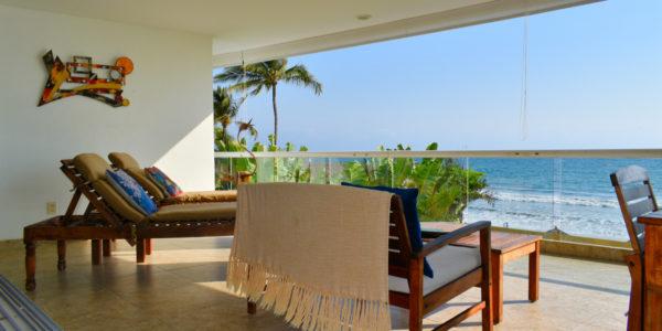 VillaMagna Nuevo Vallarta Condominio amueblado con vista al Mar
