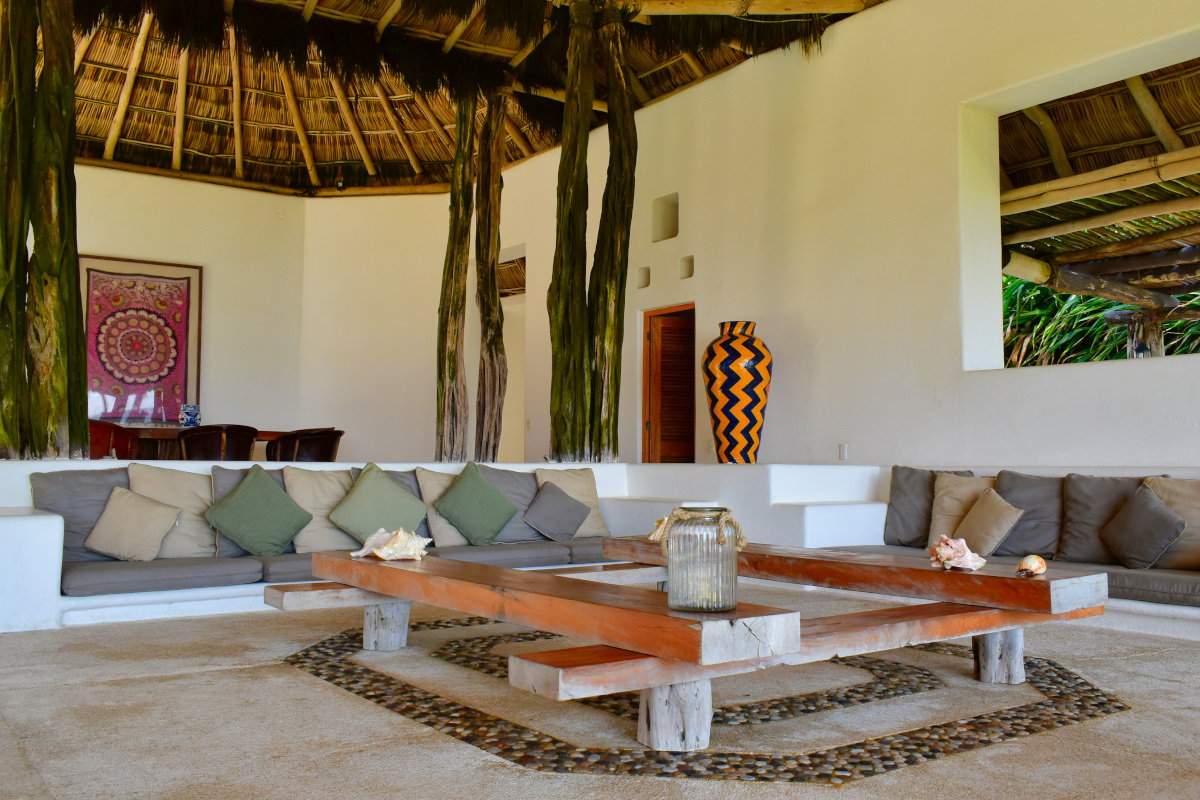 Casa la Palapa frente al mar en venta Nuevo Vallarta